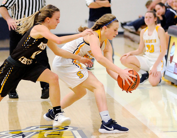 Don Knight    The Herald Bulletin<br /> Shenandoah hosted Monroe Central on Tuesday.