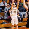 Don Knight | The Herald Bulletin<br /> Alexandria senior Logan King shoots from the perimeter as the Tigers hosted Madison-Grant on Thursday.