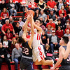 Don Knight |  The Herald Bulletin<br /> Frankton hosted Elwood on Friday.