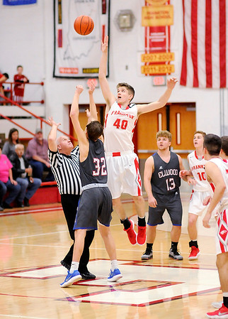 Don Knight    The Herald Bulletin<br /> Frankton hosted Elwood on Friday.