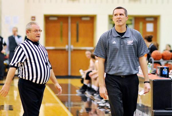 John P. Cleary   The Herald Bulletin<br /> Frankton vs Lapel in girls basketball.
