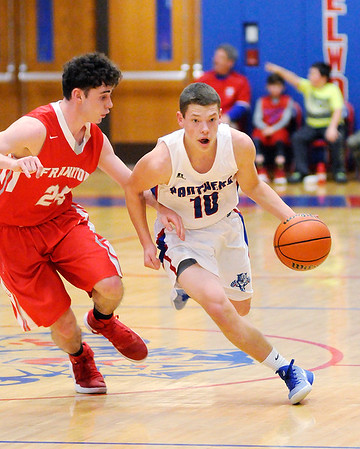 Don Knight | The Herald Bulletin<br /> Elwood hosted Frankton on Friday.