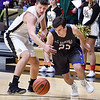 John P. Cleary | The Herald Bulletin<br /> Elwood vs Madison-Grant in Boys Basketball.