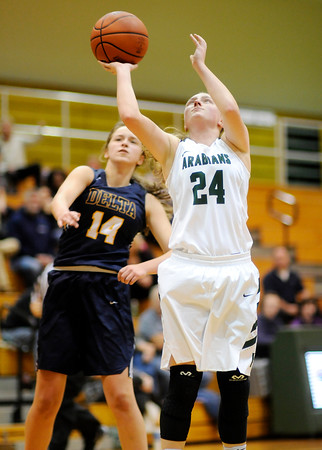 Don Knight | The Herald Bulletin<br /> Pendleton Heights hosted Delta on Thursday.