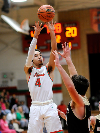 Don Knight |  The Herald Bulletin<br /> Anderson hosted Noblesville on Saturday.