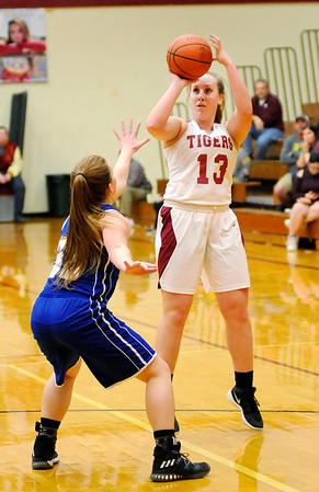 Don Knight |  The Herald Bulletin<br /> Alexandria faced Tipton in the sectional at Alexandria on Wednesday.