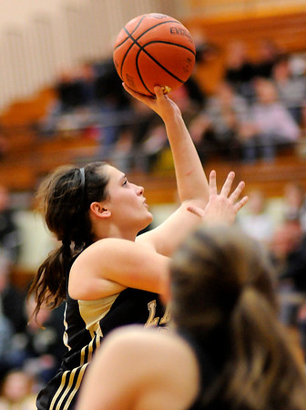 Don Knight | The Herald Bulletin<br /> Alexandria hosted Lapel in the first round of the Madison County Basketball Tournament on Tuesday.