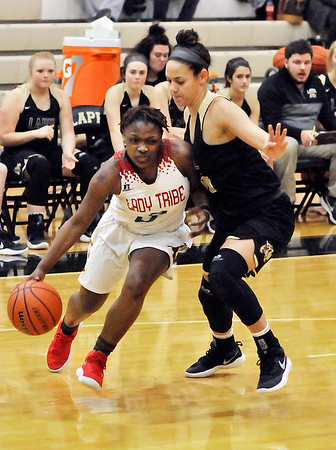 John P. Cleary |  The Herald Bulletin<br /> Lapel vs AHS in girls basketball.