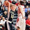 John P. Cleary | The Herald Bulletin<br /> Lapel vs Frankton in boys basketball in MC Tourney.