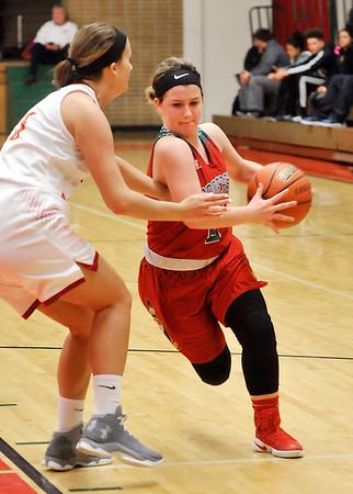 John P. Cleary |  The Herald Bulletin<br /> AHS vs Liberty Christian in MC Girls Basketball Tournament.