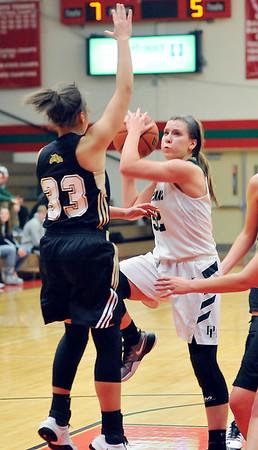 John P. Cleary    The Herald Bulletin<br /> Lapel vs Pendleton Heights in MC Girls Basketball Tournament.