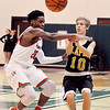 John P. Cleary |  The Herald Bulletin<br /> Lapel vs AHS in boys basketball.
