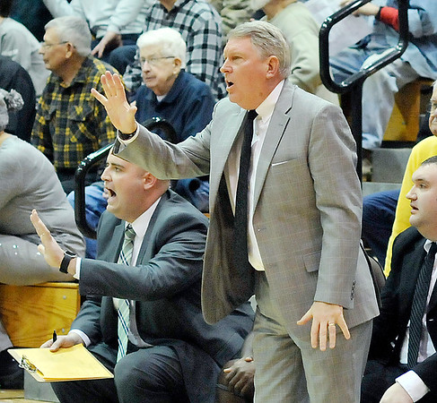 John P. Cleary |  The Herald Bulletin<br /> Lapel vs AHS in boys basketball.