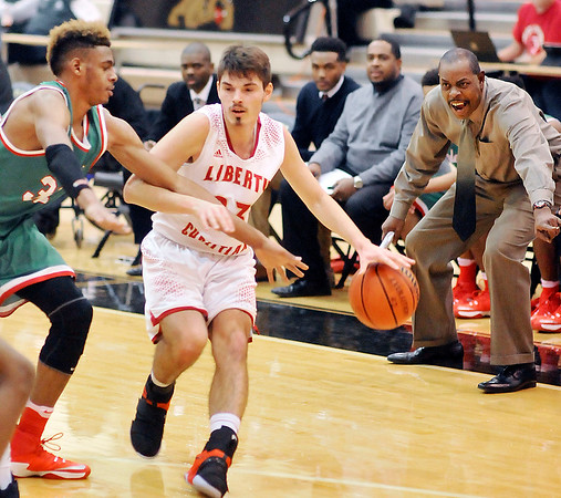 John P. Cleary |  The Herald Bulletin<br /> Anderson vs Liberty Christian.