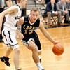 John P. Cleary |  The Herald Bulletin<br /> Lapel's Josiah Hudson drives the lane against Pendleton's Karsten Windlan.