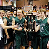 Don Knight |  The Herald Bulletin<br /> The Madison County Boys Basketball Tournament championship on Saturday.