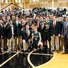 Don Knight   The Herald Bulletin<br /> Pendleton Heights won the Boys Madison County Basketball Tournament on Saturday.