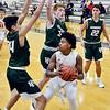 Liberty Christian vs Pendleton in MC Boys Basketball tourney championship game.