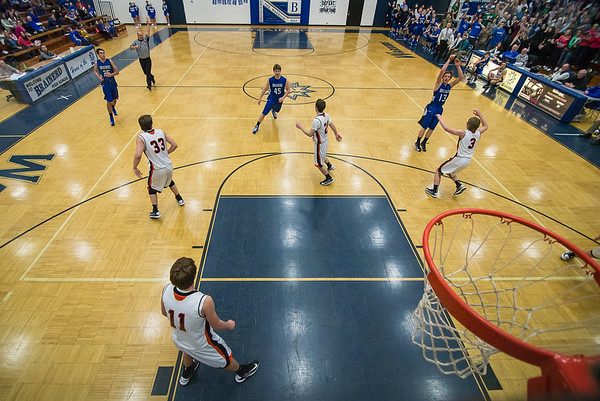 Jack Sauer's 1,000th from above the rim