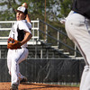 Clarksville pitcher Drew Kissel works the mound against Charlestown on Thursday. Staff photo by C.E. branham