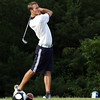 Providence No. 1 golfer Bryce Very tees off on his second hole of the 2012 Southern Indiana Open on Saturday at Hidden Creek Goilf Club. Staff photo by C.E. Branham