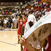 Jeffersonville walks off the court after their 74-53 loss to Indianapolis Cathedral in the semi-state tournament at Seymour on Saturday. Staff photo by Christopher Fryer