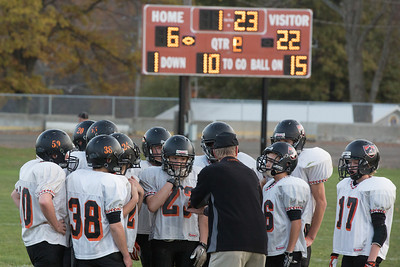 13 10 30 Tow v Troy 7th & 8th Grade FB