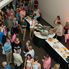 Guests and participants of the first Annual NTSPY Awards Ceremony enjoy refreshments prior to the start of Thursday's ceremony. Photo by Joe Ullrich