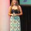 Providence High School's Jacquie Hornung won the Girls' Athlete of the Year award at Thursday's News and Tribune NTSPY Awards Ceremony. Photo by Joe Ullrich