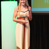 Floyd Central's Remi Bowman won the Girls' Player of the Year Award at Thursday's News and Tribune NTSPY Award Ceremony held at Indiana University Southeast's Ogle Center. Photo by Joe Ullrich