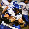 Charlestown senior Seth McCutchen drives the ball down field during the second quarter of their away game against Corydon Central on Friday. Staff photo by Christopher Fryer