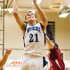 Providence center Ryan Pickerrell goes up for a shot during their home game against South Central on Thursday. Staff photo by Christopher Fryer