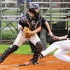Providence catcher Nick Campbell forces an out at home during their game against Corydon Central in the Sajko Invitational on Friday. Staff photo by Christopher Fryer