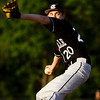 Clarksville junior Will Copas pitches during their game against Henryville in the first round of the Providence sectional tournament on Wednesday. Staff photo by Christopher Fryer
