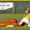 Borden's Garrett Vick slides safely into second base during the Braves' 8-7 victory over Floyd Central on Thursday. Staff photo by Christopher Fryer