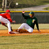 Floyd Central's Derek Despain slides safely into third base during their home game against Jeffersonville on Wednesday. Floyd Central won the game, 6-5. Staff photo by Christopher Fryer
