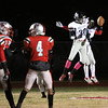 New albany receiver Ravon Wright celebrates with Landon Howard after Wright socred on a 64 yard touchdwon reception. Staff photo by C.E. Branham