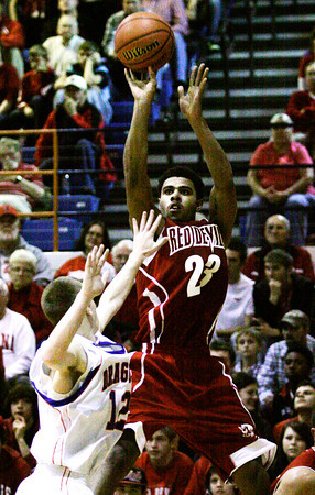 Jeffersonville's Darryl Baker goes up for a shot during their game against Silver Creek on Friday. Staff photo by Christopher Fryer