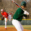 Jeffersonville's Nick Gallagher pitches during their away game against Floyd Central on Wednesday. Floyd Central won the game, 6-5. Staff photo by Christopher Fryer