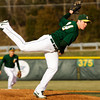 Floyd Central's Brandon Smith pitches during their home game against Jeffersonville on Wednesday. Floyd Central won the game, 6-5. Staff photo by Christopher Fryer