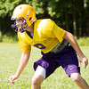 Eastern junior Austin Roberts goes through drills during practice in New Pekin on Wednesday morning. Staff photo by Christopher Fryer