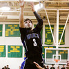 Charlestown guard Aaron Daniel goes up for a shot during their game at Floyd Central on Friday. Floyd Central won the game in double overtime, 81-79. Staff photo by Christopher Fryer