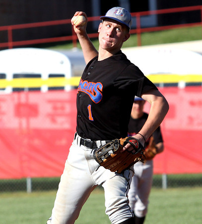 Silver Creek pitcher Cameron Cook working against Jeffersonville on Wednesday. Staff photo by C.E. Branham