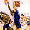 New Albany's DeAnthony Warren and Seymour's Chase Salmon fight for a rebound during their game at New Albany on Friday. Staff photo by Christopher Fryer