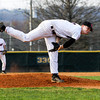 New Albany's Garrett Sherrell pitches during their home game against Floyd Central on Wednesday. Staff photo by Christopher Fryer