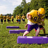 Eastern players run drills during practice in New Pekin on Wednesday morning. Staff photo by Christopher Fryer