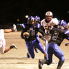 Charlestown running back Seth McCutchen scrambles for yardage against Gibson Southern in the 3A Regional Friday night. Staff photo by C.E. Branham