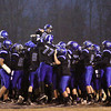The Charlestown Pirates take the field for their sectional game against Corydon Central Friday night. Staff photo by C.E. Branham