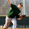 Floyd Central's Kyle Beach pitches during their game at New Albany on Wednesday. Staff photo by Christopher Fryer