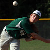HYR 13-14 All-Star pitcher Matt Jewell delivers a pitch to Jeff/GRC during District V play Monday evening in Charlestown. Staff photo by C.E. Branham